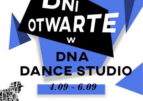 Dni otwarte DNA Dance Studio – 4-6.09.2019